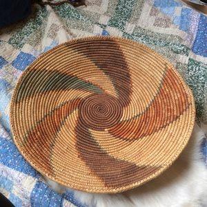 Big Beautiful Bohemian Woven Basket
